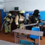 Проведены пожарно-тактические учения по отработке действий личного состава ПЧ-86 в филиале ГБПОУ Дуванский многопрофильный колледж с.Большеустьикинское
